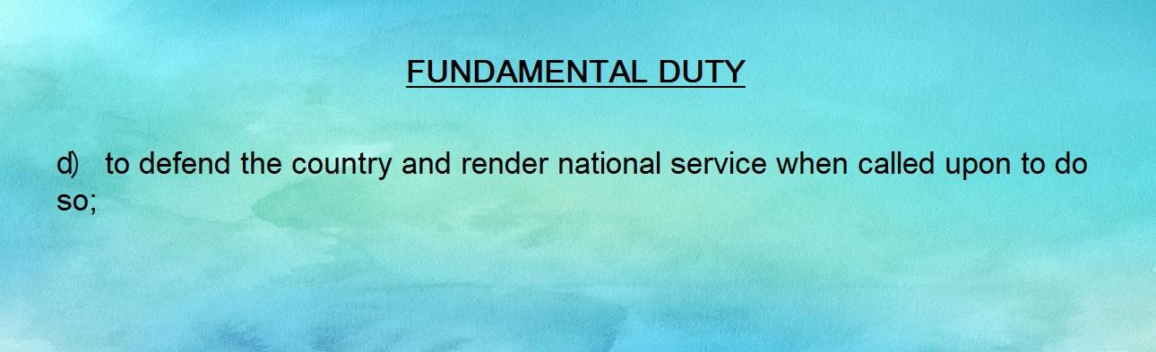 Fundamental Duty 04
