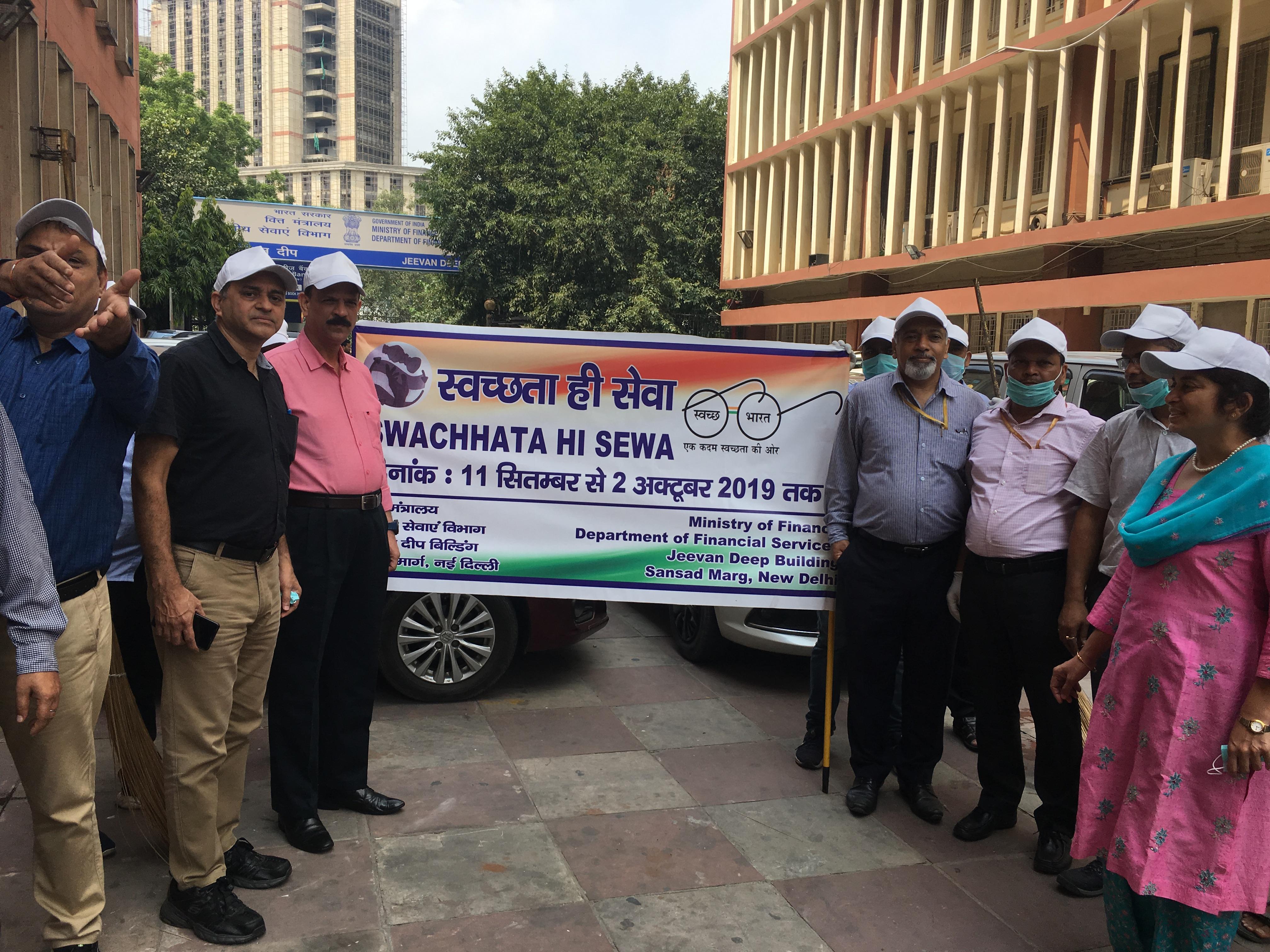 Swachhata Hi Seva Campaign, 2019 from 11.09.2019 to 02.10.2019