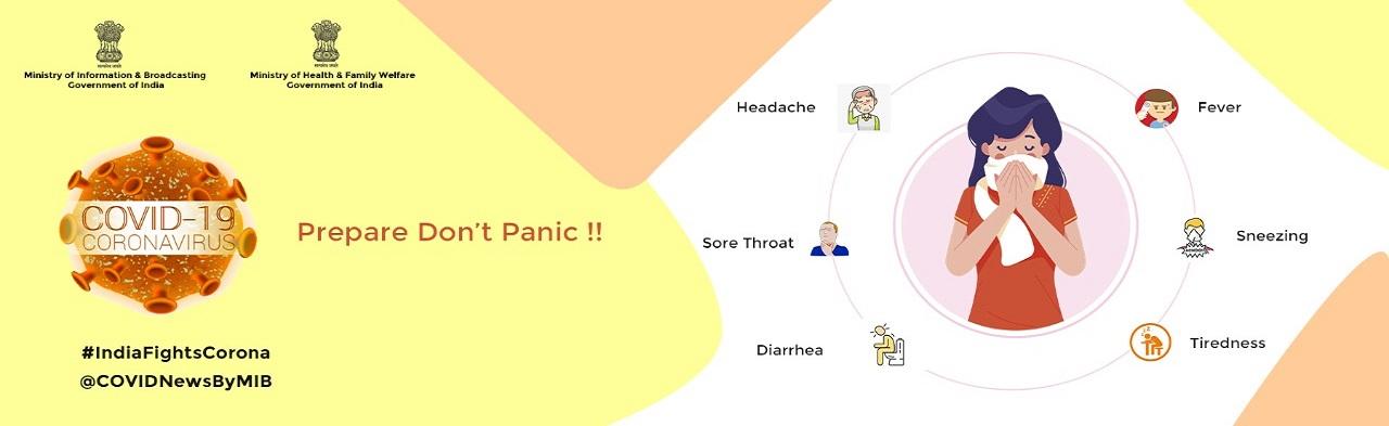 COVID19 - Prepare Dont Panic